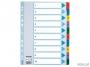 e100161 - przekładki do segregatora A4 kartonowe numeryczne 1-10 Esselte Mylar