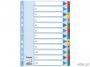 e100162 - przekładki do segregatora A4 kartonowe numeryczne 1-12 Esselte Mylar