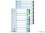 e100163 - przekładki do segregatora A4 kartonowe numeryczne 1-20 Esselte Mylar