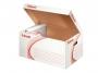 e128900 - pudło archiwizacyjne Esselte otwierane z góry, karton o wym. 563x370x260 mm