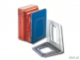 e15364 - podpórka do książek Esselte A4 dymna, plastikowy separator / stojak, 2 szt.