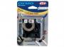 e16957 - taśma, etykiety do drukarek Dymo D1 nylonowa 12 mm x3,5m czarny / biały
