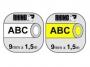 e1805c_ - taśma, etykiety do drukarek Dymo rurka termokurczliwa 9 mm x1,5m, na kabel o średnicy min 1,73 mm, max 3,73 mm