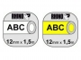 e1805d_ - taśma, etykiety do drukarek Dymo rurka termokurczliwa 12 mm x1,5m, na kabel o średnicy min 2,97 mm, max 5,13 mm