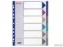 e20647 - przekładki do segregatora A4 Maxi PP Esselte Multicolor 6 kart