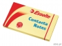 e83001 - karteczki samoprzylepne Esselte 75x125 mm, Contacta żółty, 100 kartek