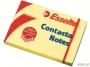 e83005 - karteczki samoprzylepne Esselte 50x75 mm, Contacta żółty, 100 kartek