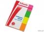 e83019 - zakładki indeksujące samoprzylepne Esselte 20x50 mm, Contacta 4 kolory, 4x40 szt.