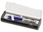 f9308z - długopis + ołówek Sheaffer 100 9308 niebieski chrom, komplet
