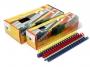 g79412_ - grzbiet do bindowania plastikowy 12,5 mm, A4 Argo 100 szt./op.