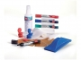 ka30051 - marker do tablic suchościeralnych whiteboard, płyn do czyszczenia, gąbka / wycierak, magnesy Nobo zestaw akcesoriów