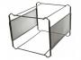 kf00833 - kartoteka - stojak  Q-Connect do teczek zawieszanych A4, pojemność 30-40szt., czarna