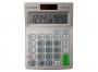 kf11507 - kalkulator biurowy Q-connect szary, 10 miejscowy wyświetlacz