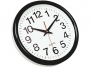 kf15590 - zegar ścienny Q-Connect Tokyo 28 cm czarny
