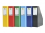 kf16___ - pojemnik na dokumenty, czasopisma Q-Connect A4/75 PVC, katalogi do 750 kartek
