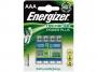 kfen7005 - bateria akumulator HR03 AAA 1,2V 700 mAh Energizer Power Plus, 4 szt./blister