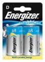 kfen7539 - bateria LR20 D 1,5V Energizer Maximum, 2 szt./blisterTowar dostępny do wyczerpania zapasów u producenta!
