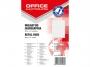 kfo0025 - wkład do segregatora Office Products A5 w kratkę, mix kolorów, 100 kartek