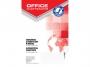 kfo1131 - skorowidz teleadresowy, alfabetyczny A4 96 kartek w kratkę Office Products oprawa twarda