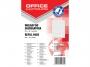 kfo1399 - wkład do segregatora A4 Office Products w kratkę, mix kolorów, 50 kartek