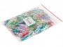 kfo1808 - spinacze kolorowe 28 mm, małe okrągłe Office Products 500 szt./op.