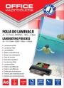 kfo25841 - folia do laminowania A6 111x154 mm 80 mic Office Products 100 szt./op.
