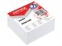 kfo31114 - karteczki białe kostka nieklejona Office Products 85x85x40 mm