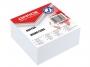 kfo3311 - karteczki białe kostka klejona Office Products 85x85x40 mm
