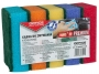 kfo35717 - gąbka uniwersalna zmywak kuchenny Office Products Maxi Premium, mix kolorów, 5 szt./op.