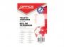 kfo5023 - wkład do segregatora Office Products A5 w kratkę,biały, 50 kartek