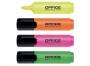 kfo5215 - zakreślacz Office Products mix kolorów, 4 szt./op.