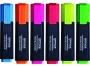 kfo5219 - zakre�lacz Office Products fluorescencyjny 6 szt./op. mix kolor�w