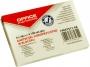 kfo7511 - karteczki samoprzylepne Office Products 51x76 mm, żółte, 100 kartek