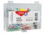 kfo82668 - spinacze, pinezki, klipsy Office Products zestaw 153 szt./op.
