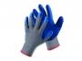kfv00217 - rękawice ochronne Cerva robocze, bezszwowe, wyściółka poliestrowo-bawełniana, HS-04-002, niebieskie, rozmiar 10