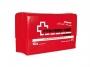 kfv0203 - apteczka pierwszej pomocy uniwersalna w pudełku, z wyposażeniem Cerva skład zgodny z DIN 13164