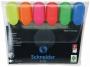 kr115096 - zakreślacz fluorescencyjny Schneider Job 1.5, 6 szt./kpl.