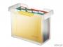 l19931__ - pojemnik, kartoteka na teczki zawieszane Leitz Plus, 8 teczek