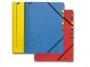 l3907__ - teczka segregująca A4 z 7 przekładkami Leitz kartonowa kolorowa z gumką