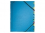 l391235 - teczka segregująca Leitz A4, 12 przekładek, kartonowa niebieska