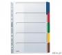 l4320 - przekładki do segregatora A4 kartonowe Leitz 5 kolorów