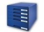 l5211__ - pojemnik na dokumenty, czasopisma / sorter biurkowy Leitz Plus z 5 szufladami
