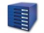 l5212__ - pojemnik na dokumenty, czasopisma / sorter biurkowy Leitz Plus z 6 szufladami