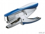 l554833 - zszywacz nożycowy do 30 kartek Leitz 5548 na zszywki 24/6, metaliczny, ręczny, niebieski