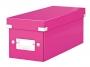 l6041a__ - pudło archiwizacyjne na płyty Leitz Click and Store WOW na 30 CD, karton o wymiarach zewnętrznych 143x136x352 mm