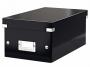 l6042__ - pudło archiwizacyjne na płyty Leitz Click and Store na 22 DVD, karton o wymiarach zewnętrznych 206x147x352 mm