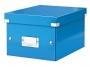l6043a__ - pudło archiwizacyjne Leitz Click and Store WOW uniwersalne małe S, karton o wymiarach zewnętrznych 216x160x282 mm