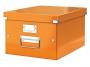 l6044a__ - pudło archiwizacyjne Leitz Click and Store WOW uniwersalne średnie M, karton o wymiarach zewnętrznych 281x200x369 mm