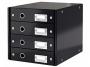 l6049__ - pojemnik na dokumenty, czasopisma / sorter biurkowy Leitz Click and Store z 4 szufladami