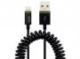 l621595 - kabel przedłużacz USB Leitz Complete spiralny 1m czarny